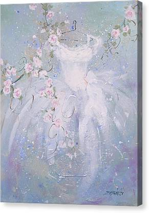 Whimsy Canvas Print by Laura Lee Zanghetti