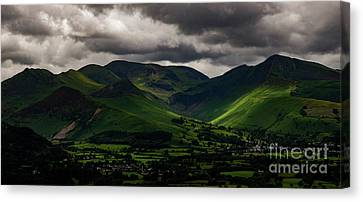 Whinlatter Fells Canvas Print by John Collier