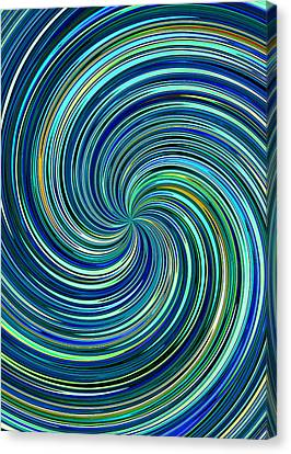 Whirl 12 Canvas Print by Chris Butler
