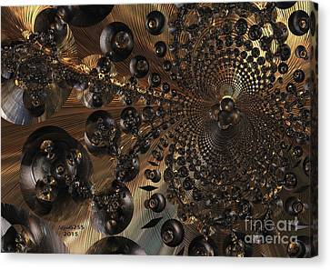 Whirl Wind Of The Universe Canvas Print