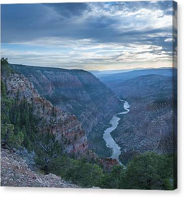 Canvas Print featuring the photograph Whirlpool Canyon by Joshua House