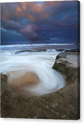 Whirlpool Dawn Canvas Print by Mike  Dawson