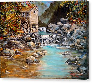 Whisper Run Mill Canvas Print