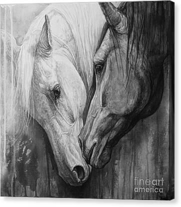 Whisper Canvas Print by Silvana Gabudean Dobre