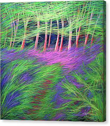 Whisper The Wind Canvas Print