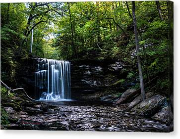 Whispering Falls Canvas Print by Marvin Spates