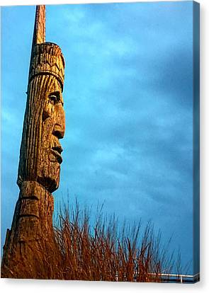 Canvas Print featuring the photograph Whispering Giant by Sumoflam Photography