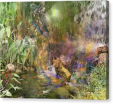 Whispering Waters Canvas Print by John Beck