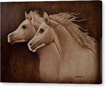 Whispers Canvas Print by Jo Schwartz