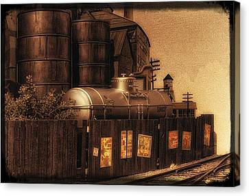 Whistlestop Canvas Print by Mitch Spence
