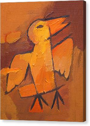 Whistling Bird Canvas Print by Lutz Baar