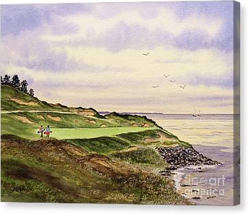 Whistling Straits Golf Course Hole 7 Canvas Print