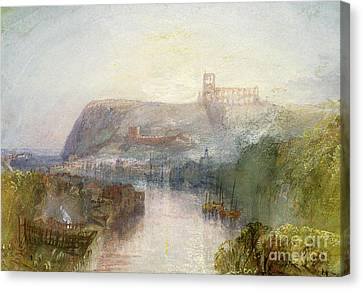 Port Town Canvas Print - Whitby by Joseph Mallord William Turner