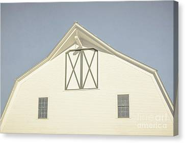 White Barn South Woodstock Vermont Canvas Print by Edward Fielding