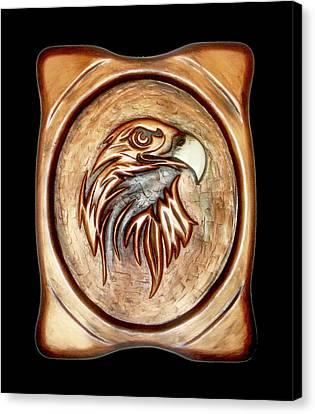 White Beak Canvas Print by A Yasini