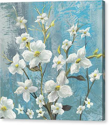 White Bloom Canvas Print by Anthony Christou