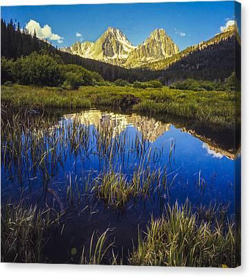 White Cloud Mountains Idaho Canvas Print