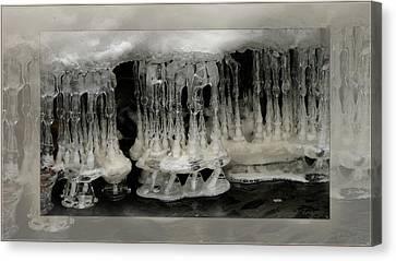 White Grotto. Canvas Print by Doug Bratten