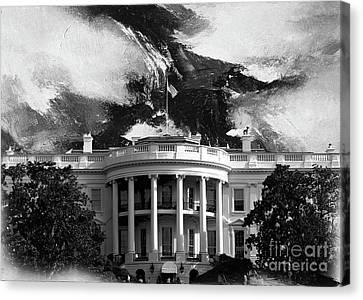 White House 002 Canvas Print by Gull G