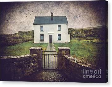 White House Of Aran Island I Canvas Print