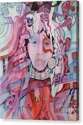 White Man's Magic Canvas Print