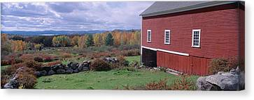 White Mountains, Autumn, New Hampshire Canvas Print by Panoramic Images