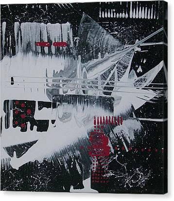 Etc. Canvas Print - White Noise #1 by Charlotte Nunn