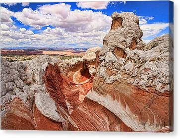 White Pocket # 10 - Marjorie's Cove Canvas Print