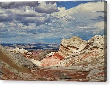 White Pocket # 40 Canvas Print