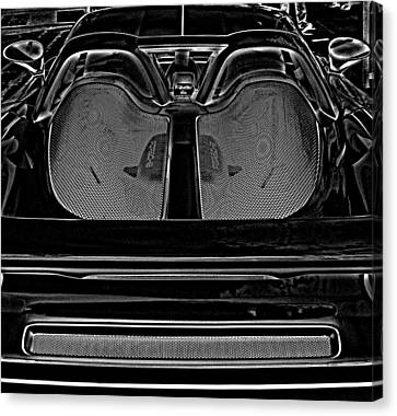 White Porsche  Canvas Print by Fred Nugent