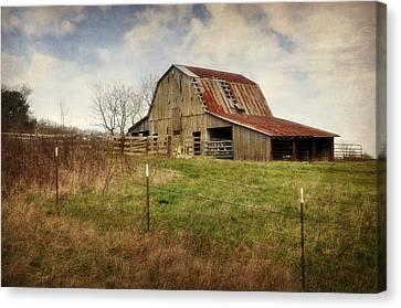 White River Trace Barn 2 Canvas Print
