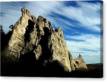 White Rocks Canvas Print by Anthony Jones