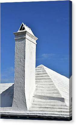 White Roof No. 6-1 Canvas Print