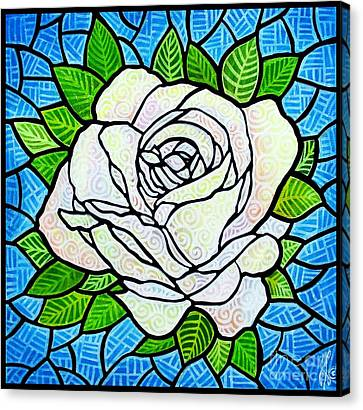 White Rose  Canvas Print by Jim Harris