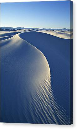 White Sands National Monument Canvas Print by Dawn Kish