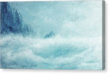 Etc. Canvas Print - White Storm by Paul Rowe