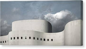 White Theater Canvas Print by Gilbert Claes