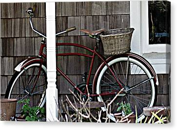 White Wall Tires Canvas Print by Mg Blackstock