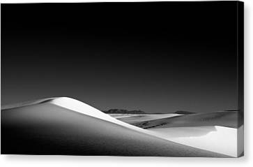 White Wave Canvas Print