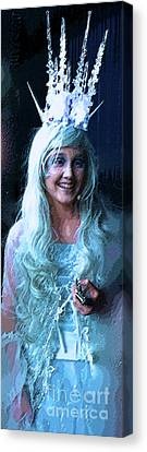 White Witch Canvas Print by Alan Metzger