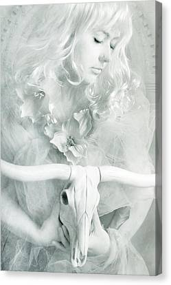 White Witch II Canvas Print by Cambion Art