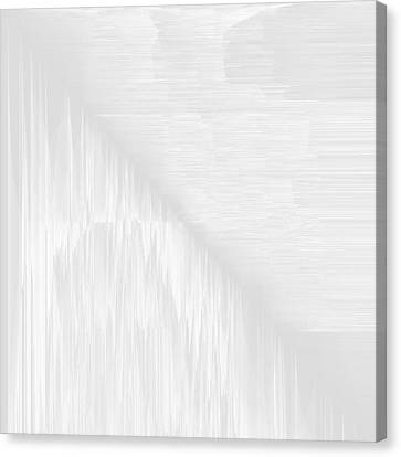 White.47 Canvas Print by Gareth Lewis