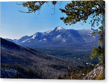 Whiteface Mt From Clark Mt. Canvas Print