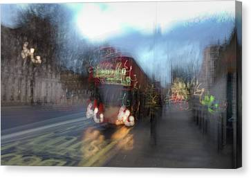Canvas Print featuring the photograph Whitehall by Alex Lapidus