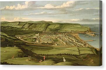 Whitehaven - Cumbria Canvas Print by Matthias Read