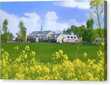 Whitemarsh Pa - Erdenheim Farms In The Spring Canvas Print
