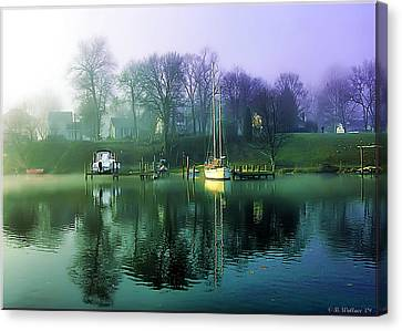Canvas Print featuring the photograph White's Cove Awakening by Brian Wallace