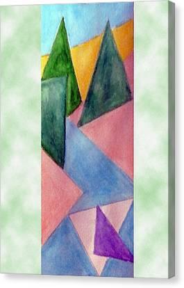 Whitewater Raft Canvas Print