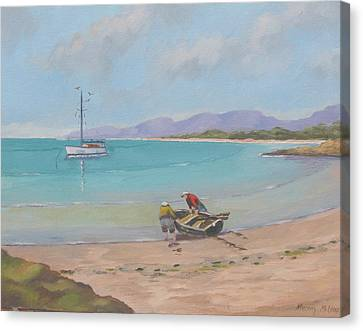 Whitsunday Sailors Canvas Print by Murray McLeod