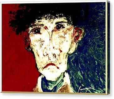 Who Am I   1b Canvas Print by Teodoro De La Santa